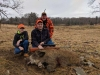 Family boar hunt