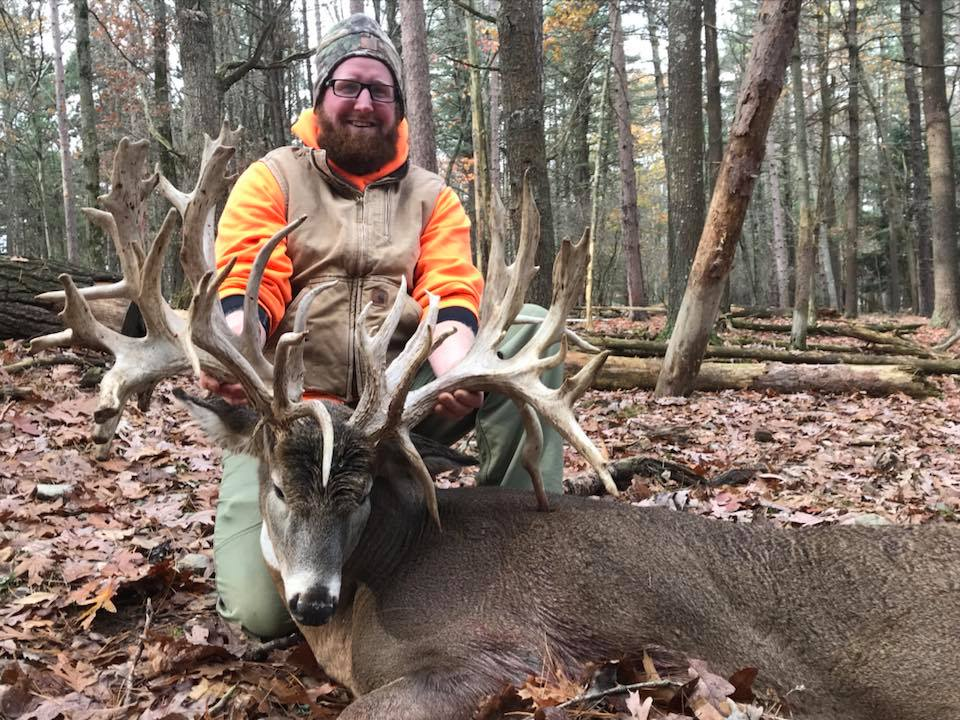 guided trophy whitetail deer hunting trips in pennsylvania tioga