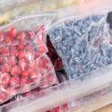 Snacks in Ziploc bags